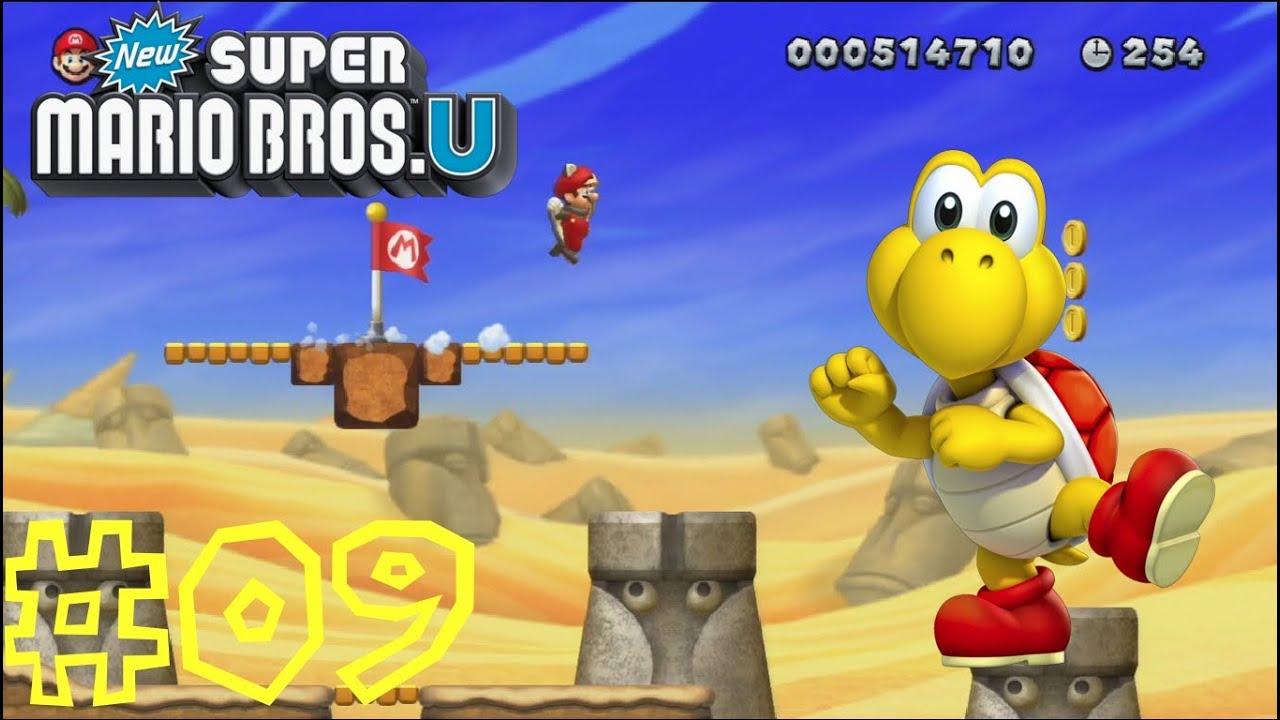 New Super Mario Bros U Layer Cake Desert Music