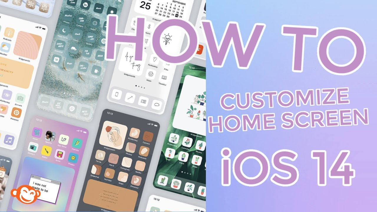 Ios 14 Home Screen Aesthetic Ideas How To Youtube