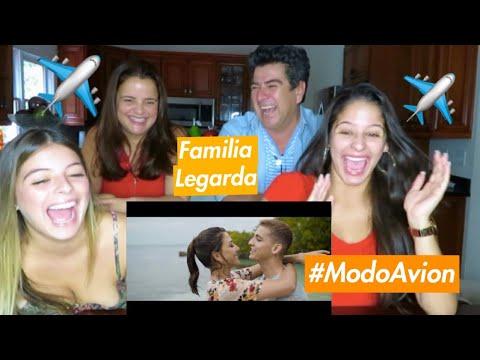 FAMILIA LEGARDA REACCIONA A MODO Avión - LEGARDA, DIEGO VAL, DJ TOWA