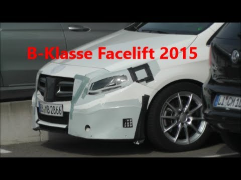 mercedes b klasse 2015 facelift teil 1 b class mercedes 2015 erlk nig prototype part 1 youtube. Black Bedroom Furniture Sets. Home Design Ideas