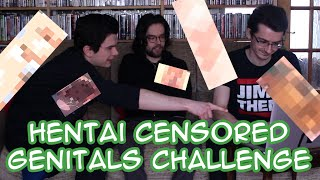 Hentai Censored Genitals Challenge - PEN*S OR V*GINA???