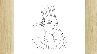 HOW TO DRAW WHIS FROM DRAGON BALL SUPER /// COMO DESENHAR O WHIS DE DRAGON BALL SUPER