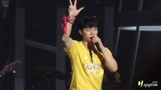 """[FANCAM] JUNHO Solo Tour 2018 """"FLASHLIGHT"""" 『0711 TOKYO 2PM SONG』ZEPP"""