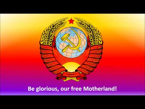State Anthem of the Soviet Union (with English subtitles)