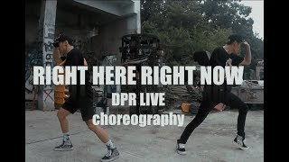 DPR LIVE - right here right now [NEWEST CREW choreography]