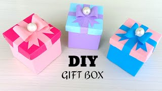 DIY Gift Box / How to make Gift Box ? Easy Paper Crafts Idea / DIY gift box /gift box / how to make
