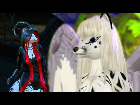 SL Furry Dance - Angel Fox