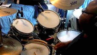 New G, Ricky Dillard - Because of The Blood (Drum Cover)