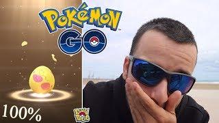 CONSIGO UN 100% Y MI MEJOR REGIONAL BUSCANDO EL SHINY DE HUEVO!! [Pokémon GO-davidpetit]