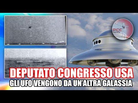TIM BURCHETT, DEPUTATO CONGRESSO USA: GLI UFO DEI VIDEO RILASCIATI PROVENGONO DA UN'ALTRA GALASSIA