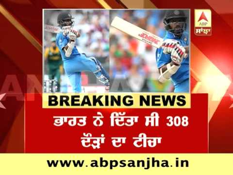 Breaking News: India Beats South Africa in Cricket World Cup