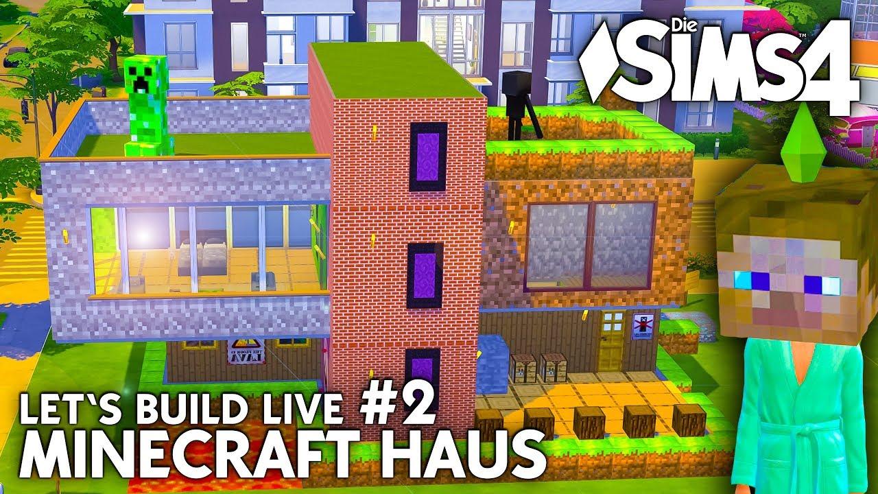 Minecraft Haus Bauen In Die Sims Lets Build Mit Minecraft - Minecraft hauser kostenlos downloaden