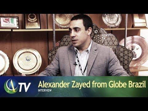 Alexander Zayed from Globe Brazil | Interview