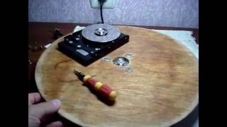 поворотный столик для торта своими руками Turntable for cake