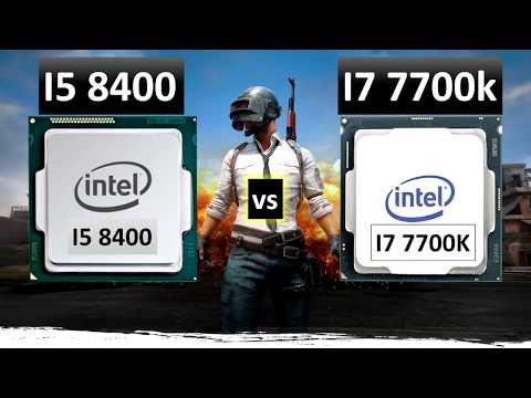 i5 8400 vs i7 7700k Gaming Performance Test