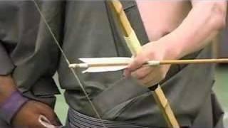 弓道  kyudo:  fujishima-sensei