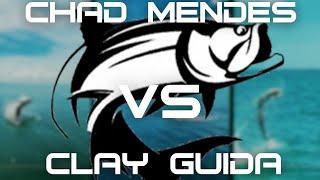 Chad Mendes & Clay Guida Battle HUGE TARPON in Florida! | [Bull Sharks]
