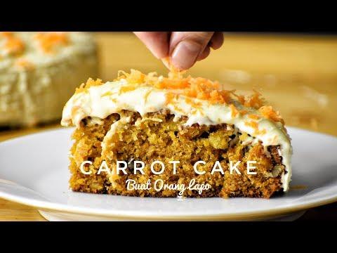 Carrot Cake | Kek Lobak Merah