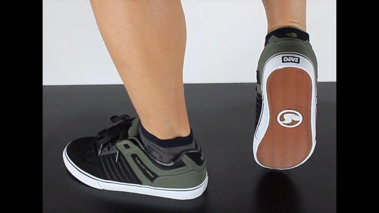 DVS Skateboard Shoes Celsius CT Black Leather