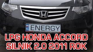 Montaż instalacji LPG do Hondy Accord 2.0 2011r - instalacja V generacji Vialle Wtrysk Ciekły