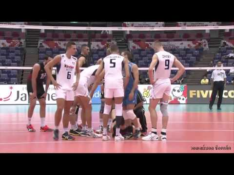 2015 FIVB Volleyball Men's World Cup. ITALY x CANADA // Injury