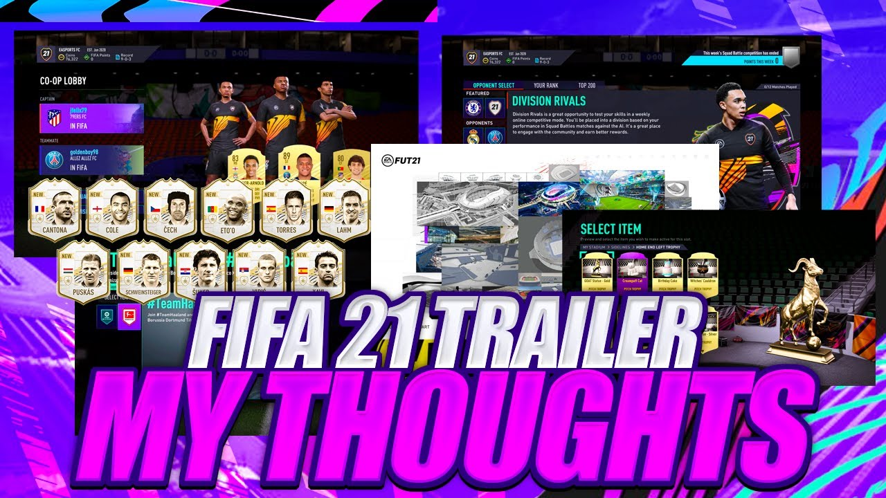 FIFA 21 ULTIMATE TEAM NEW FEATURES REVIEW! HONEST THOUGHTS ON FIFA 21 STADIUM, RIVALS, CO-OP!