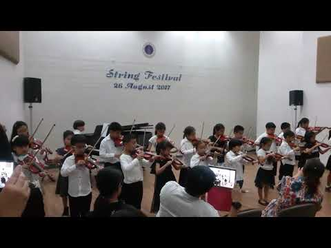 PP & friend (play VIOLIN group) String Festival (26 August 2017) Ep.2
