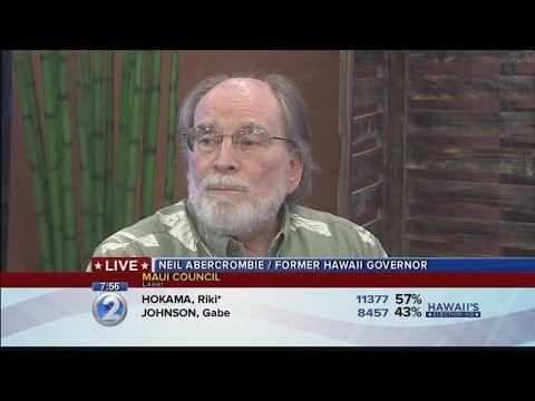 Former Gov. Neil Abercrombie