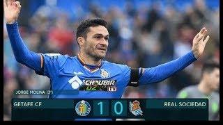 Getafe vs Real Sociedad 1-0 La Liga 15/12/2018