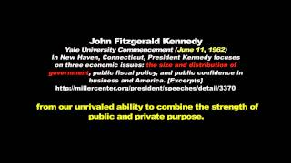 Federal Budget - JFK, Says it All