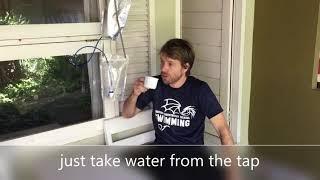 Filter air minum Petrus powered by Nazava ini adalah pemurni air buat outdoor camping dan darurat  air mentah menjadi air minum sehat