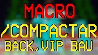 FACTIONS TUTORIAL: MACRO DE /COMPACTAR /VIP /BACK /HOME...