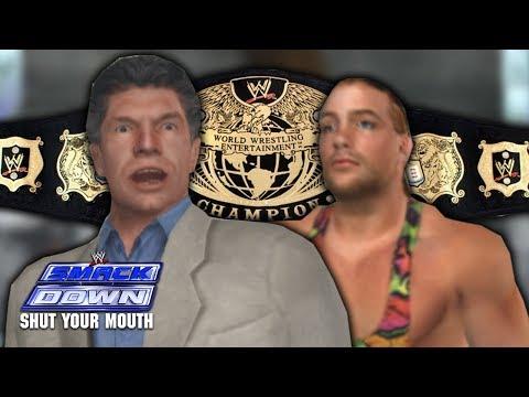 Smackdown: Shut Your Mouth Season Mode Part 5 - Undisputed Championship! Rob Van Dam?!