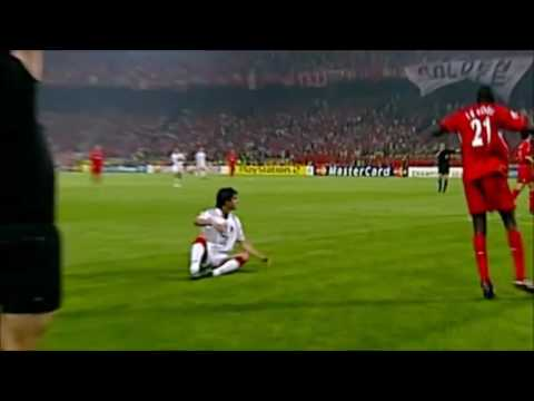 Liverpool vs AC Milan - UCL Final Istanbul 2005 - All Goals Highlihts - Penalty Shoots - D