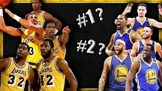 Ranking the 10 Greatest Starting 5's in NBA History