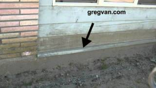 Siding Metal On Building Foundation - New Home Construction And Remodeling