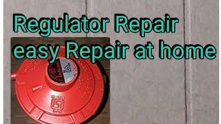 How to Gas Regulator Repair at Home.