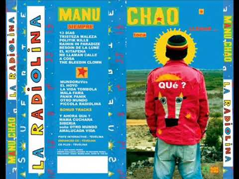 La Radiolina FULL ALBUM ALBUM COMPLETO -Manu Chao