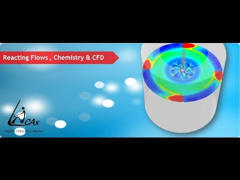Webinar on : Introduction to Reacting Flow Modeling using CFD