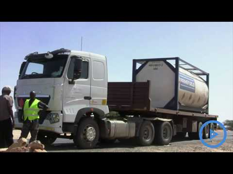 Local drivers paralyze oil transportation in Lokichar in protest over jobs