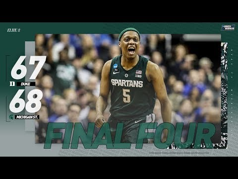 Duke vs. Michigan State: Spartans advance to 2019 Final Four