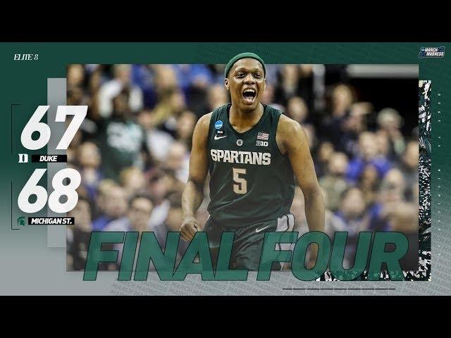Duke vs. Michigan State: Spartans advance to 2019 Final Four