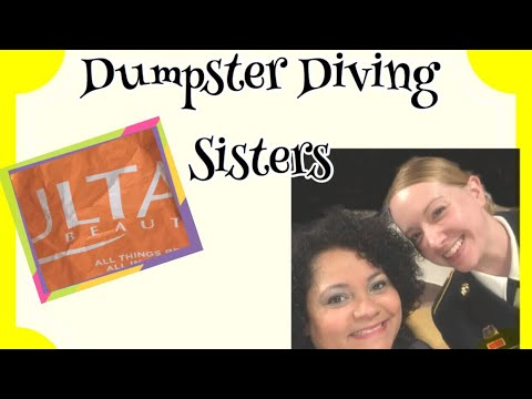 Dumpster diving ULTA ||| confronted by a worker