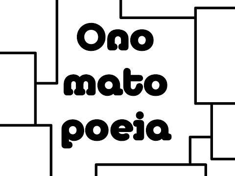 Onomatopoeia An educational rap