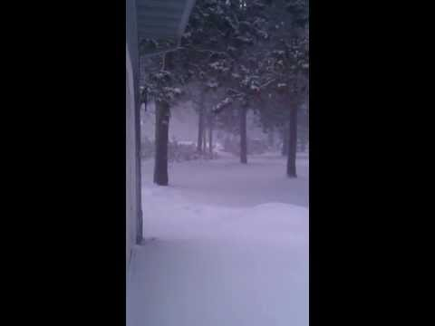 Snow storm in Mn April 11 2013