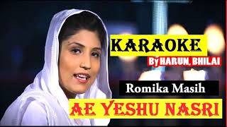 "Hindi Christian Original track ""Ae yeshu Nasari.."" Karaoke by Harun"