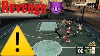 Revenge game.(Nba2k19