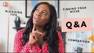 Q&A | Is It Too Late To Start A Blog, Finding Your Niche, Brexit  | Kristabel
