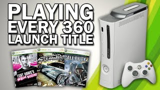 Playing EVERY Xbox 360 Launch Game In 2020