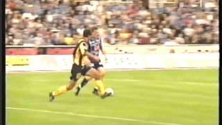 Djurgårdens IF-BK Häcken Allsvenskan 2001 + Isakssoninslag - SVT